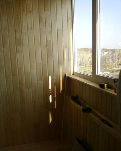 Наши работы: балконы, окна.