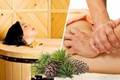 Кедровая бочка массаж обертывание