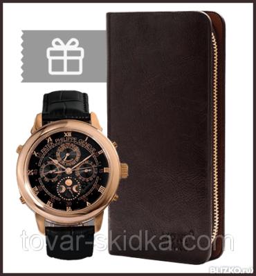 Комплект клатч Baellery Business + часы Luminor Panerai