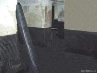 Гидроизоляция фундамента цена за м2 работа в екатеринбурге мастика битумная использование зимой