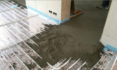 Polosuché posúdenie podlahových stierok