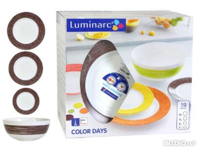 сервиз luminarc shell 203 19 предметов