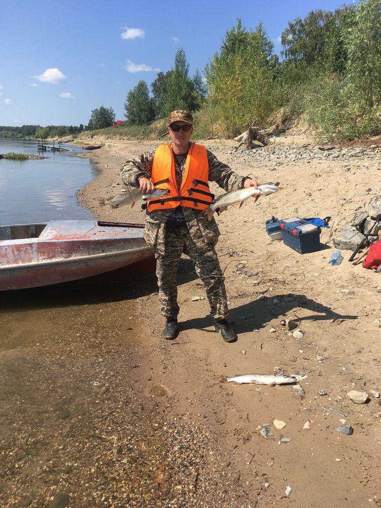 Рыбалка на реке Обь. Пристань Почта.