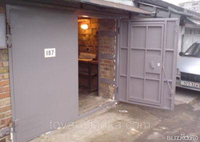 Изготовление металлических ворот для гаража купить металлический гараж бу в курске на