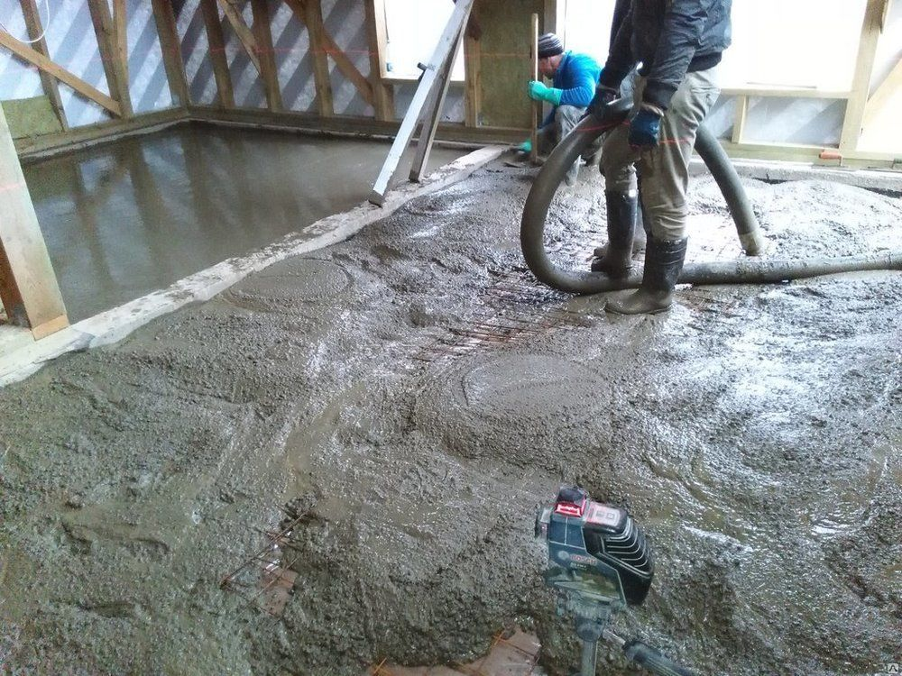 Воздух в бетонной смеси как готовиться бетонная смесь