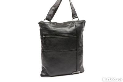 a5e87801dbf9 Мужская сумка (черный; VIP Collection; натуральная кожа; LS4618) в ...