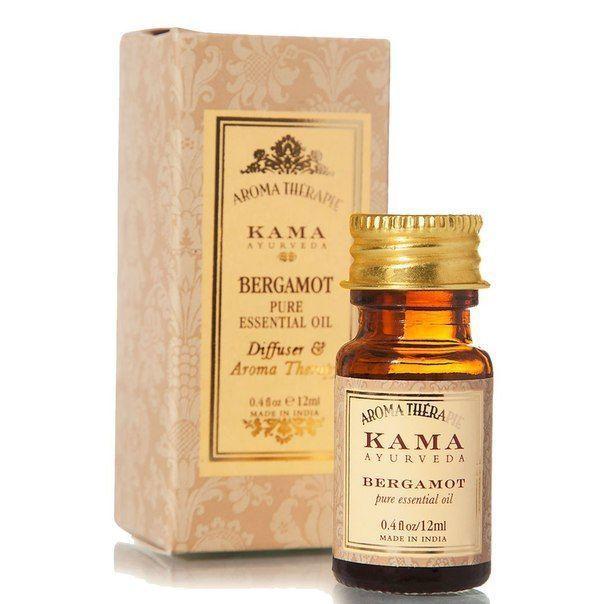 Эфирное масло бергамота, 100 % натуральное от KAMA AYURVEDA 12 мл ...