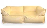 Бескаркасный диван «Де Люкс» (Красный)