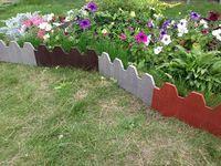 Ограждения садовые полимерно-песчаные Размер: 500*270*12 мм от компании Вторпласт-Екб купить в городе Екатеринбург