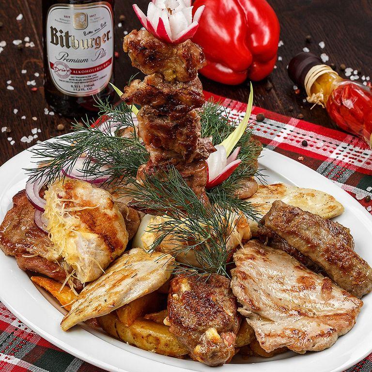 Блюда от шеф-повара в Тюмени от компании Ресторан сербской и европейской кухни БАЛКАН ГРИЛЬ